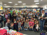 Unser Besuch in der Buchhandlung
