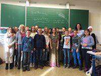 Bundesweiter Vorlesetag in der Klasse 6a